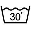 Стирать не выше 30 градусов